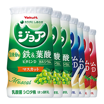 ジョア (鉄&葉酸セット) 7本パック